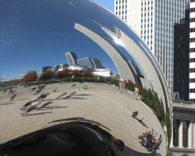 cloud gate sculpture the bean