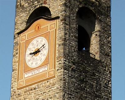 bergamo torre civica tower campanone
