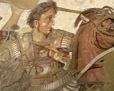 alexander the great mosaic house of the faun pompeii naples archeological museum
