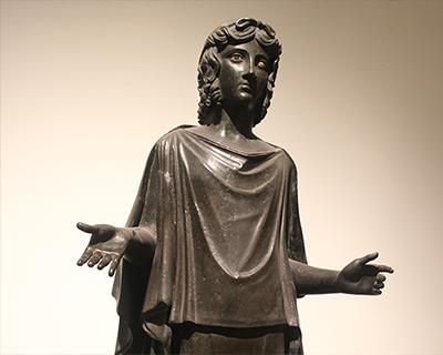 dancer bronze villa papyri herculaneum naples archeological museum