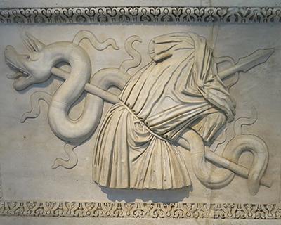relief hadrianeum rome naples archeological museum