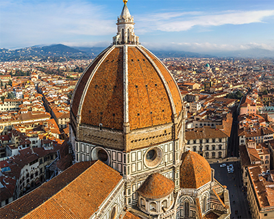 view of duomo from campanile