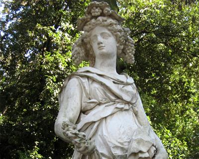 statue boboli gardens