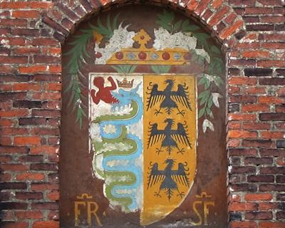 sforza visconti coat of arms