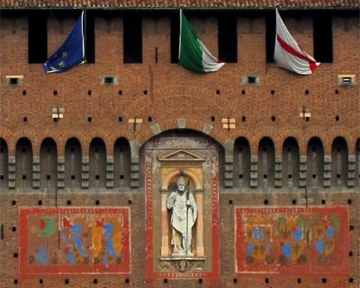 sforza castle filarete tower