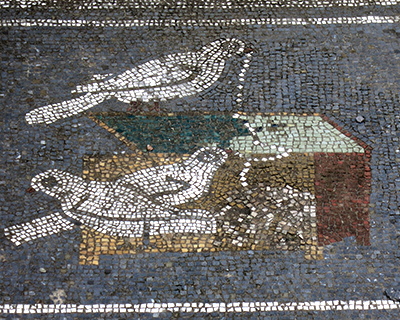 mosaics house of the faun pompeii