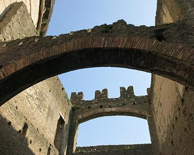 medieval castle tomb cecilia metella