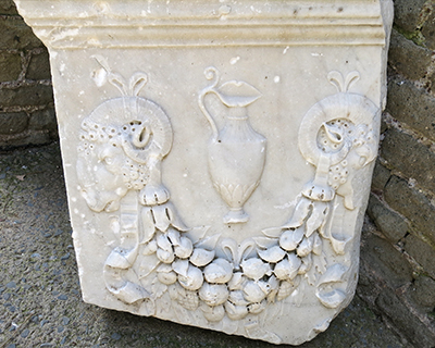 ox heads appian way