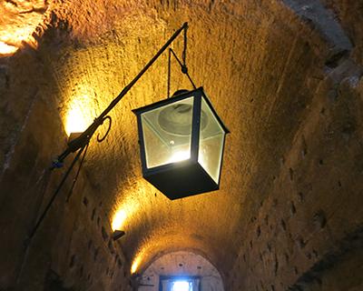 castel sant'angelo passageway