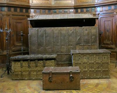 castel sant's angelo treasure room