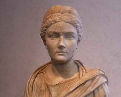 palazzo massimo alle terme marble bust sabina wife hadrian