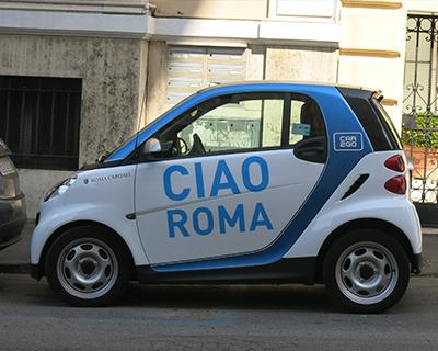 ciao roma smartcar