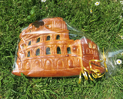 colosseum in bread