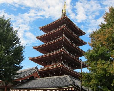 tokyo asakusa pagoda