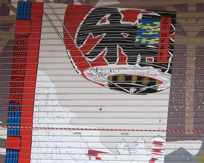 tokyo asakusa store shutter lantern