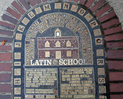 site latin school 1635 boston