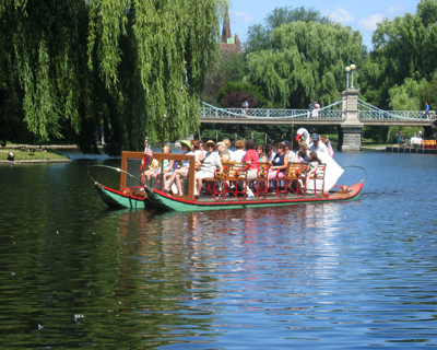 swan boats public garden boston