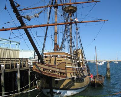 mayflower II replica plymouth massachusetts