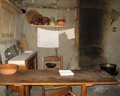 interior pilgrim house plimoth plymouth ma