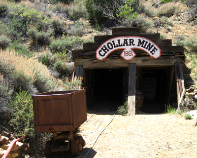 chollar mine virgnia city nevada