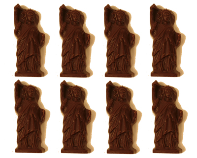 statue liberty chocolates