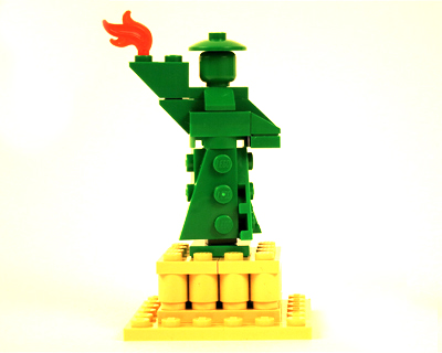 lego statue liberty