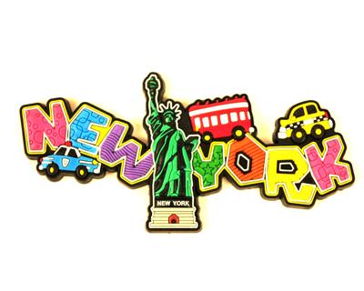 statue liberty refrigerator magnet