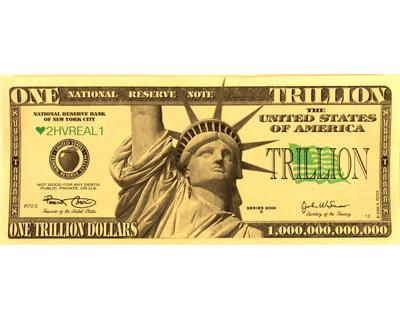 trillion dollar statue liberty