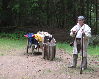 flintlock demonstration fort clatsop