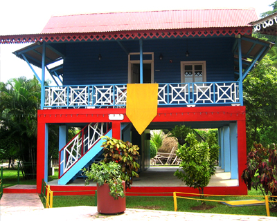 panama traditional house style
