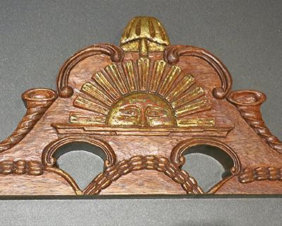 Charmant Rising Sun Chair Emblem