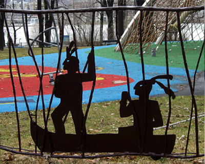 childrens playground parc jean drapeau montreal