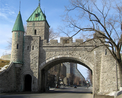 quebec city old city walls