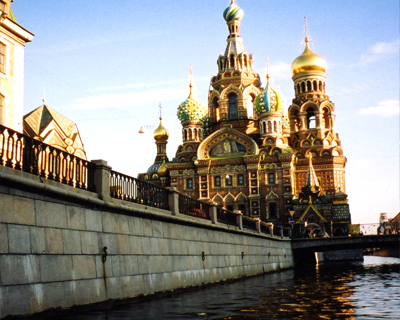 church on spilled blood st petersburg russia