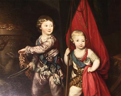 portrait romanov princes hermitage museum st petersburg russia