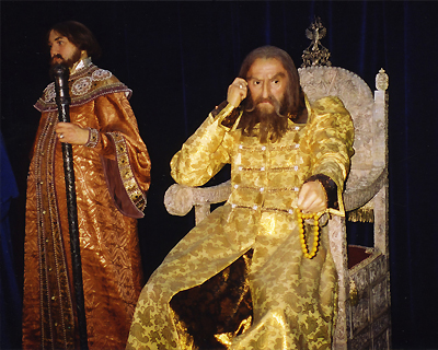 ivan terrible wax figure st petersburg russia