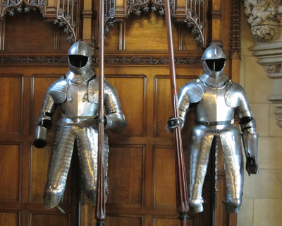 edinburgh castle great hall armor