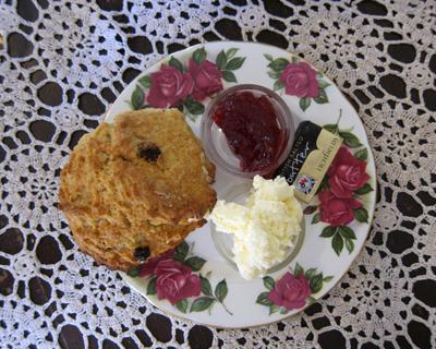 scones clarindas tea room
