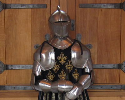 stirling castle french armor