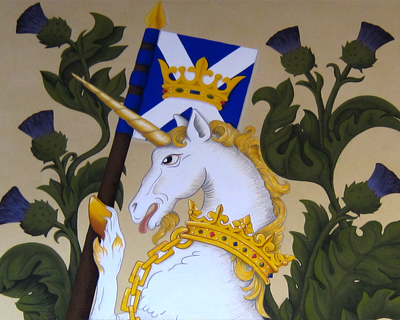 stirling castle unicorn king bedchamber