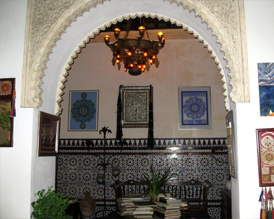 spain cordoba andalusian house