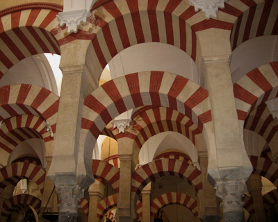 cordoba great mosque mezquita horseshoe arches
