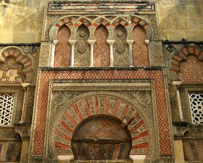 cordoba great mosque doorway facade