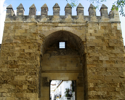 cordoba puerto almodovar medieval city gate