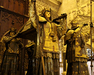 tomb christopher columbus seville cathedral