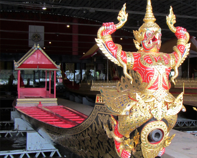 bangkok royal barge museum