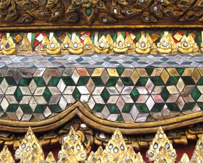 wat phra kaew mosaics mondop