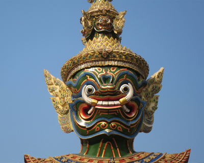 wat phra kaew ravana tosakanth giant