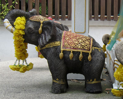spirit house elephant
