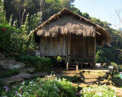 thailand hmong traditional house